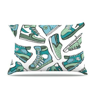 Sneaker Lover III by Brienne Jepkema Cotton Pillow Sham