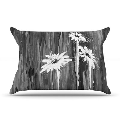 Daises by Brienne Jepkema Flowers Cotton Pillow Sham