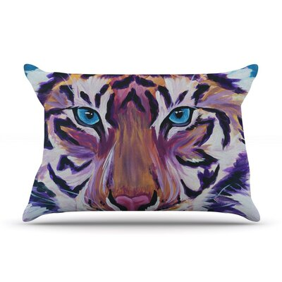 Tiger by Brienne Jepkema Cotton Pillow Sham