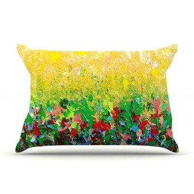 My Paintings by Ebi Emporium Multicolor Cotton Pillow Sham