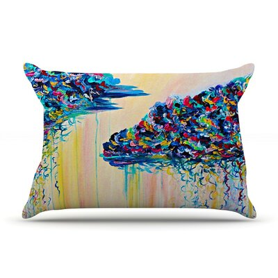 Silver Linings by Ebi Emporium Cotton Pillow Sham