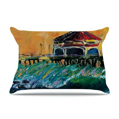 Offshore Beauty by Josh Serafin Coastal Cotton Pillow Sham