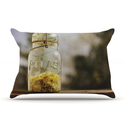 Jar of Sunshine by Angie Turner Country Cotton Pillow Sham