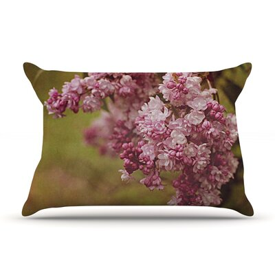 Lilacs by Angie Turner Flower Cotton Pillow Sham