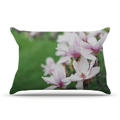 Magnolias by Angie Turner Cotton Pillow Sham