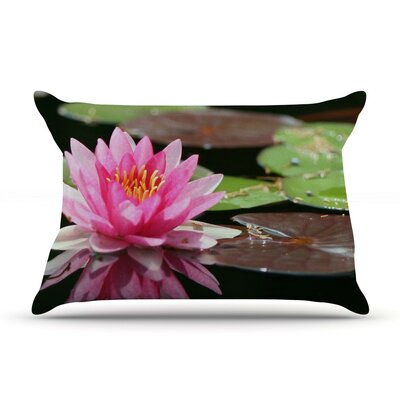 Water Lily by Angie Turner Featherweight Pillow Sham,