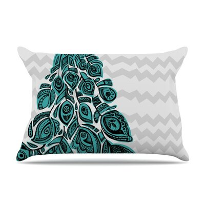 Peacock by Brienne Jepkema Featherweight Pillow Sham