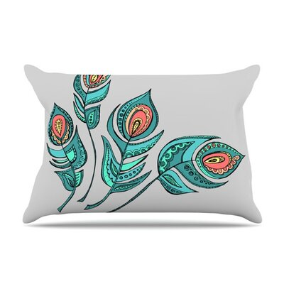 Feathers by Brienne Jepkema Cotton Pillow Sham
