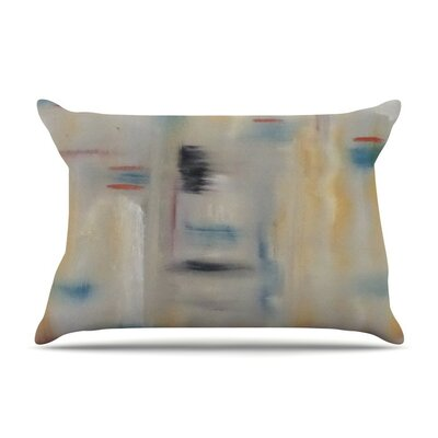 Library by Cathy Rodgers Painting Abstract Cotton Pillow Sham