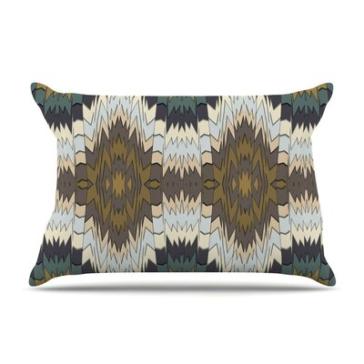 Papercuts by Akwaflorell Geometric Featherweight Pillow Sham