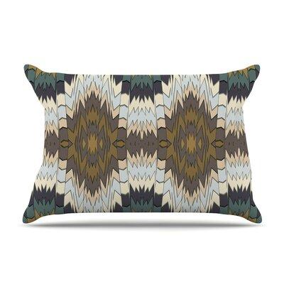 Papercuts by Akwaflorell Geometric Featherweight Pillow Sham