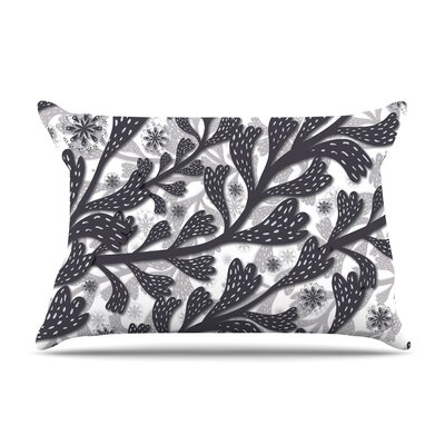 Snow Houses by Akwaflorell Abstract Featherweight Pillow Sham
