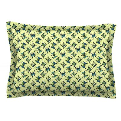Flutterby by Holly Helgeson 40 by 20-Inch Cotton Pillow Sham, King