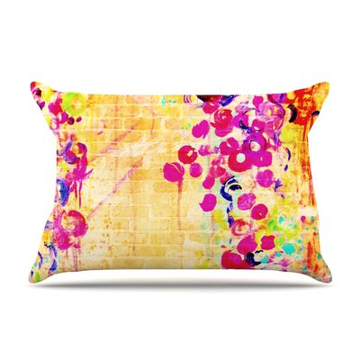 Wall Flowers by Ebi Emporium Featherweight Pillow Sham