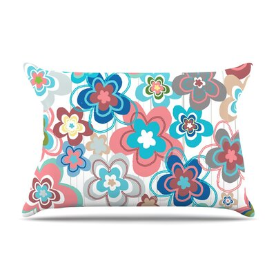 A Marsala Morning by Jolene Heckman Floral Cotton Pillow Sham
