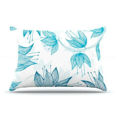 Biru Dream by Anchobee Cotton Pillow Sham