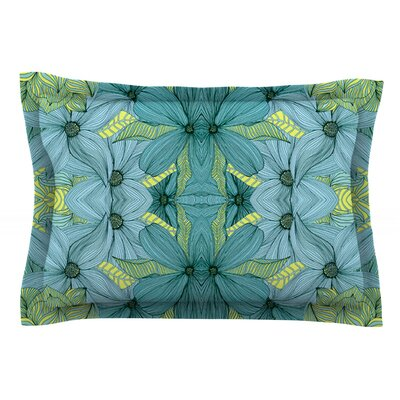 Blues by Akwaflorell Cotton Pillow Sham