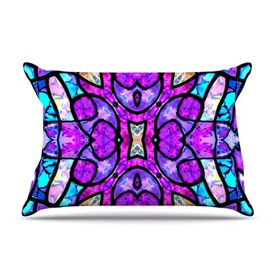 Kaleidoscope Dream by Art Love Passion Cotton Pillow Sham