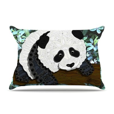 Panda by Art Love Passion White Featherweight Pillow Sham