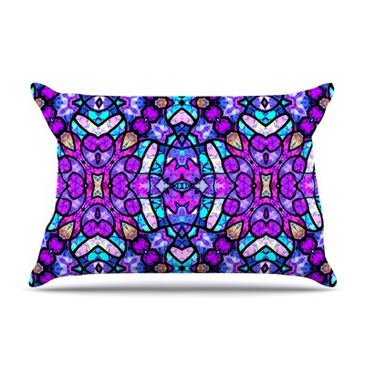 Kaleidoscope Dream Continued by Art Love Passion Purple Featherweight Pillow Sham