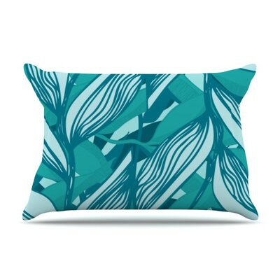 Algae by Anchobee Cotton Pillow Sham