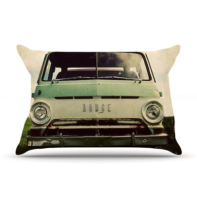 Dodge by Angie Turner Car Cotton Pillow Sham