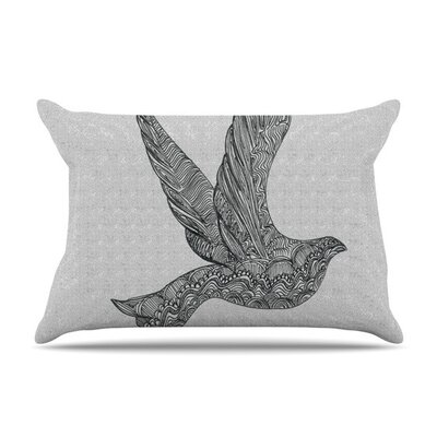 Dove by Belinda Gillies Cotton Pillow Sham