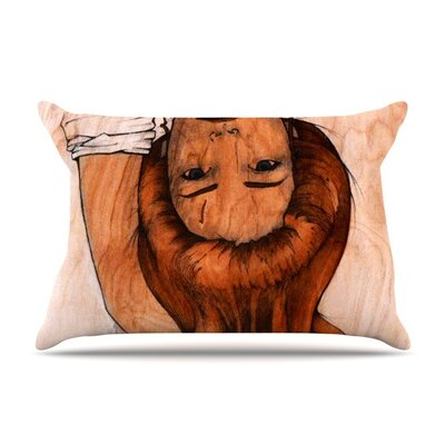 Girl by Brittany Guarino Cotton Pillow Sham
