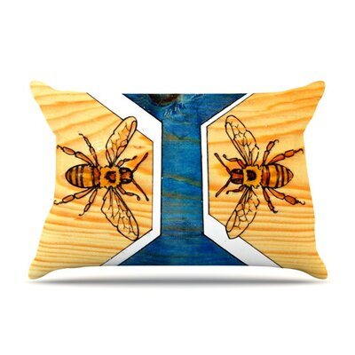 Bees by Brit y Guarino Featherweight Pillow Sham