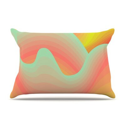 Way of The Waves by Akwaflorell Cotton Pillow Sham