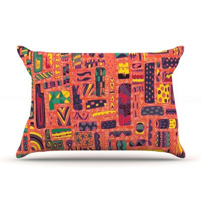 Squares by Akwaflorell Cotton Pillow Sham