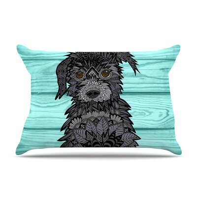 Little Miss Daisy by Art Love Passion Blue Featherweight Pillow Sham
