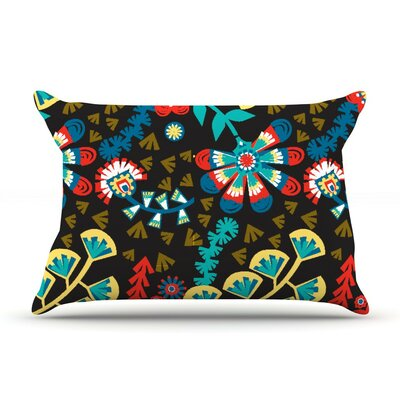 Wycinanka by Agnes Schugardt Cotton Pillow Sham