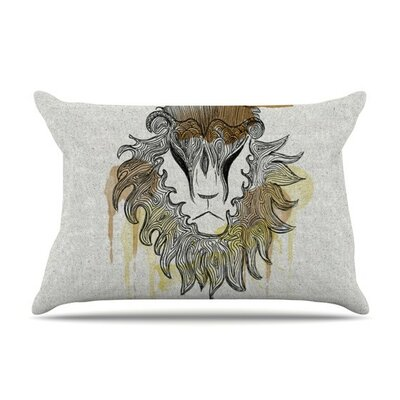 Leo by Belinda Gillies Cotton Pillow Sham