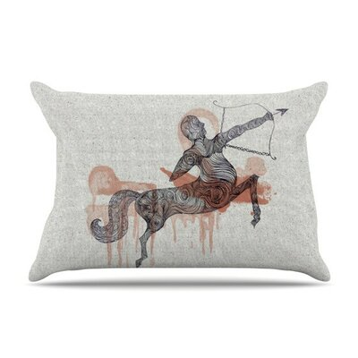 Sagittarius by Belinda Gillies Featherweight Pillow Sham