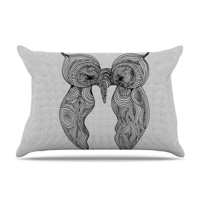 Owl by Belinda Gillies Cotton Pillow Sham