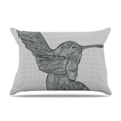 Hummingbird by Belinda Gillies Featherweight Pillow Sham