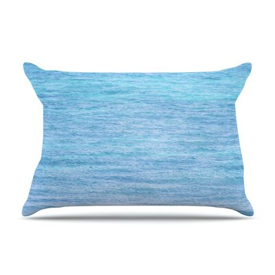 South Pacific II by Catherine McDonald Ocean Water Featherweight Pillow Sham