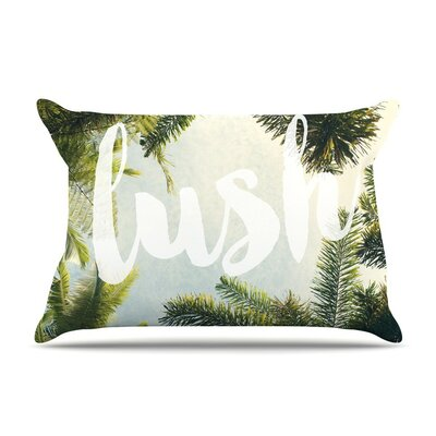 Lush by Catherine McDonald Cotton Pillow Sham