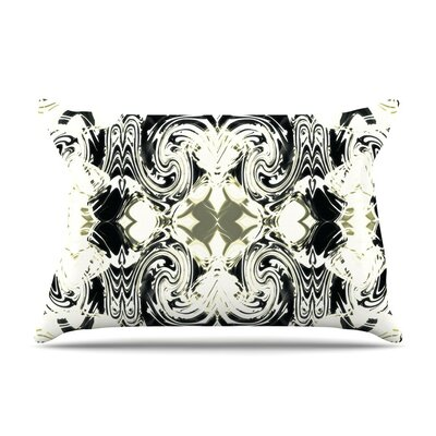 The Palace Walls III Abstract by Dawid Roc Cotton Pillow Sham