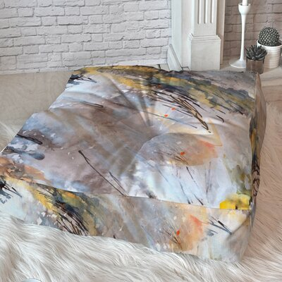 In The Wind Floor Pillow Size: 26 H x 26 W x 6 D