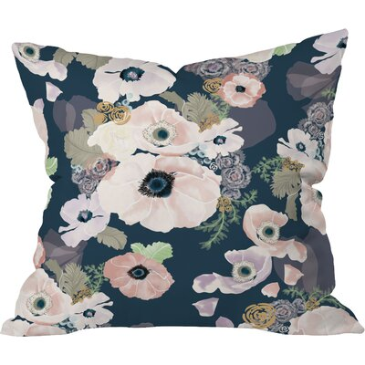 Une Femme Throw Pillow Size: 16 H x 16 W x 4 D