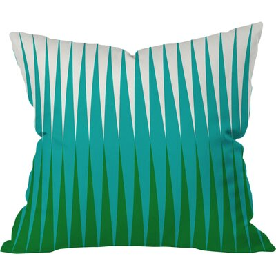 Clover Outdoor Throw Pillow Size: 18 H x 18 W x 5 D
