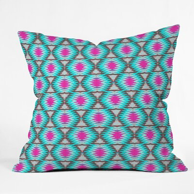 Outdoor Throw Pillow Size: 16 H x 16 W x 4 D