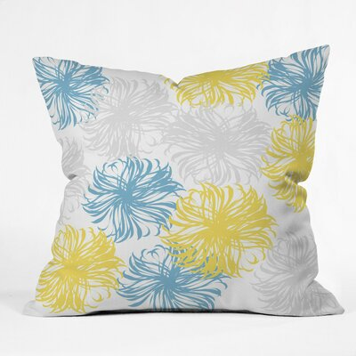 Cool Breezy Dandies Outdoor Throw Pillow Size: 18 H x 18 W x 5 D