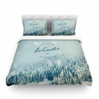 Wander Duvet Cover Size: Queen