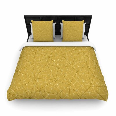 Wanderlust Hazy Skies Woven Duvet Cover Size: Queen