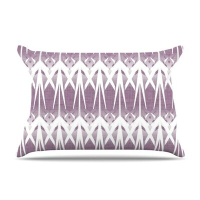 Arrow Lavender by Alison Coxon Featherweight Pillow Sham
