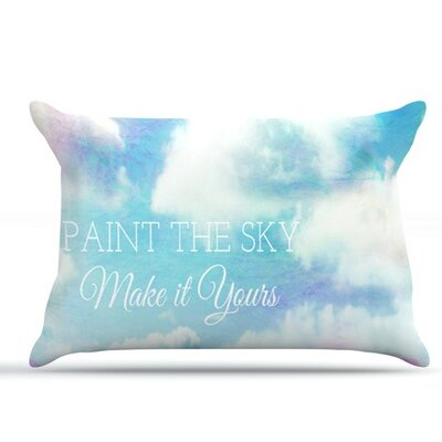 Paint The Sky! by Alison Coxon Featherweight Pillow Sham, White