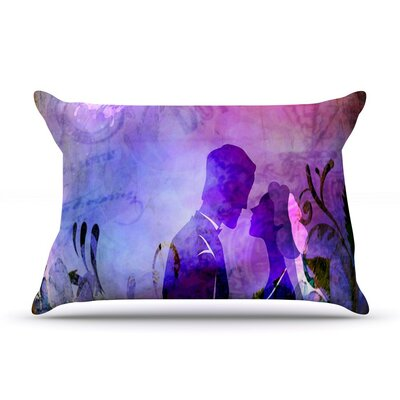 Couple in Love by Alyzen Moonshadow Cotton Pillow Sham